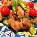 豚肉とオクラとトマトの甘酢炒め№15お酢の健康も一緒にいただき!